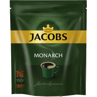 Кофе Jacobs Monarch 150 г. (мягк.упак.)