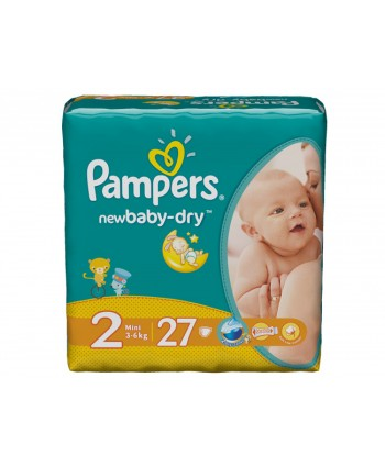 Pampers № 2 Active Baby Mini 27 шт 3-6 кг