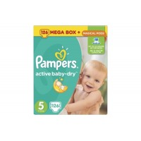 Pampers №5 Active Baby Junior 126 шт 11-18 кг