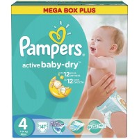 Pampers №4 Active Baby Maxi 147 шт 7-14 кг